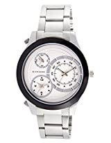 Giordano Analog White Dial Men's Watch - 60061 White - P10703