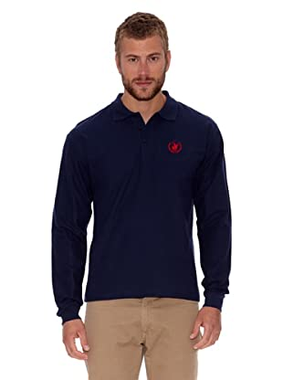 Polo Club Polo Regular Fit Ml Logo Small (Azul Marino)