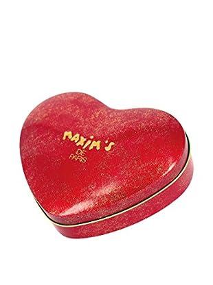 Maxim's de Paris Red Heart Tin with 18 Nougat Milk Chocolates