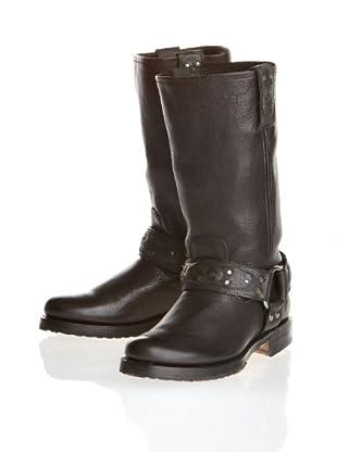 FRYE - Botas de cuero para mujer (Negro)