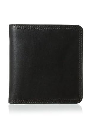 Bosca Men's Faustino 5-Pocket Wallet (Black)