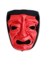300 Immortal Mask with Hood - Red