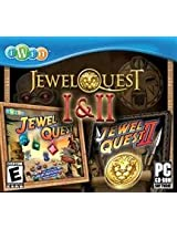Brand New Jewel Quest 1 & 2 Jc (Rated: E) (Works With: WIN XP VISTA)