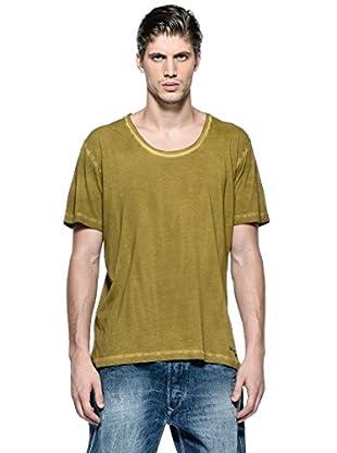 Diesel Camiseta T-Status-R (Marrón)