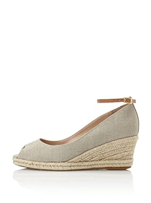 Schutz Women's Demi Wedge with Ankle Strap (Flair/Biscuit)