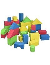 Edushape Educolor Building Blocks, Set of 30
