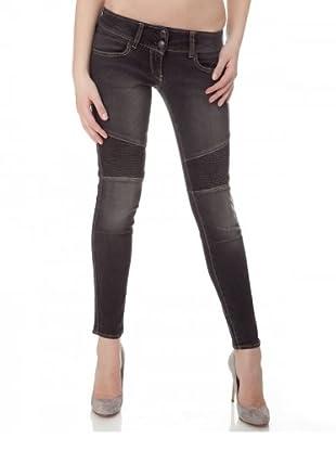 Herrlicher Jeans Moira Stretch Skinny Fit (Grau)
