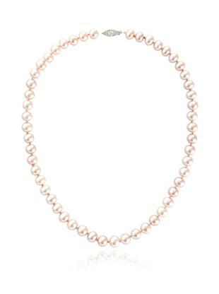 Radiance Pearl 7-8mm Pink Freshwater Pearl Necklace