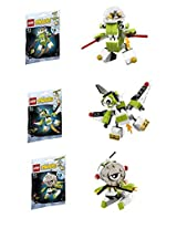 Lego, Mixels Series 4 Bundle Set of Orbitons, Rokit (41527), Niksput (41528), Nurp-Naut (41529)