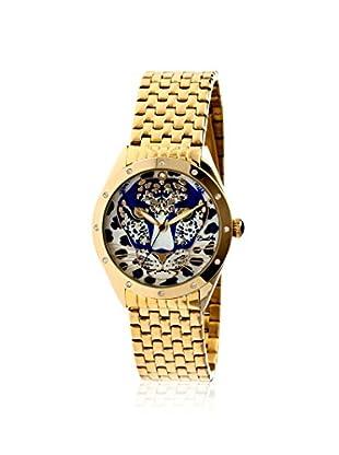 Bertha Women's BR4702 Alexandra Stainless Steel Watch, Gold/Blue