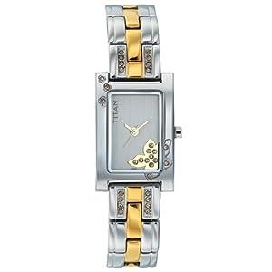 Titan Raga Analog Silver Dial Women's Watch - NE9716BM01J