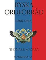 Ryska Ordforrad (Swedish Edition)