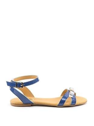 Misu Sandale Lazo (Blau/Weiß)