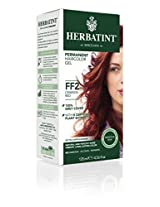 Bioforce Herbatint Flash Fashion Hair Color, Crimson Red, 4 Fluid Ounce