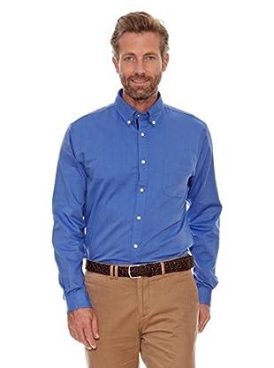 Cortefiel Camisa Oxford (Azul)