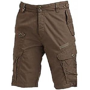 Men Comfort Mud Brown Shorts