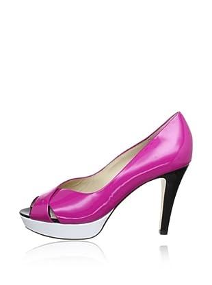 Högl Zapatos Peep Toe (Malva / Blanco)