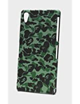 Fonokase Case for Sony Xperia Z2 Z 2 Army Series Hard Back + Screen Guard