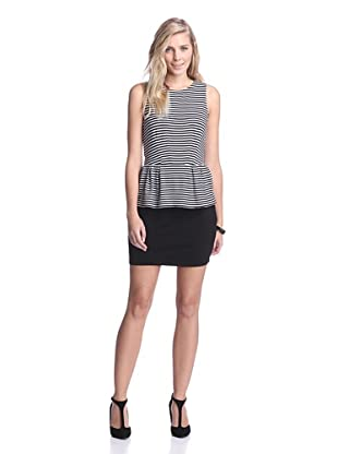 Tart Collections Women's Petaluma Dress (Black/White Stripe)