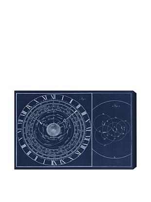 Oliver Gal Astronomical Clock Giclée On Canvas