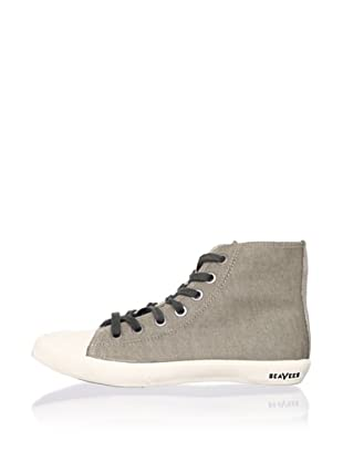 SeaVees Women's Army Issue High-Top Sneaker (Grey Stone)
