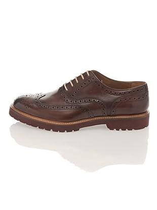 British Passport Zapatos Oxford (Marrón oscuro)