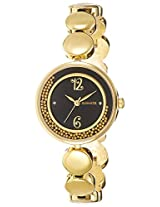 Sonata Analog Black Dial Women's Watch - 8136YM03