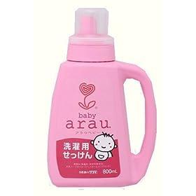 【クリックで詳細表示】arau. 洗濯用せっけん 800ml: ヘルス&ビューティー