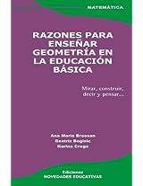 Razones Para Ensenar Geometria En La Educacion Basica