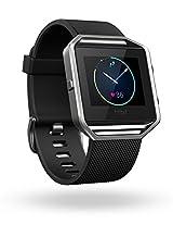 Fitbit Blaze Smart Fitness Watch, Small (Black/Silver)