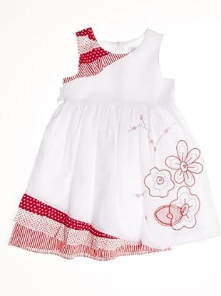 Pillerias Vestido (blanco / rojo)