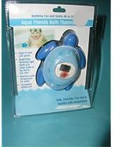 Blue TURTLE safety bathtub bath tub THERMOMETER Baby