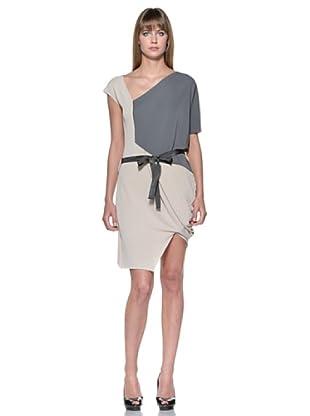 Fairly Vestido (Beige / Gris)