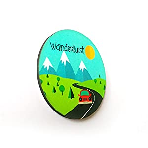 The Little Things Wanderlust - Fridge Magnet