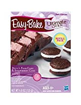 Easy Bake Ultimate Oven Devil's Food Cake & Strawberry Cake Mix Playset