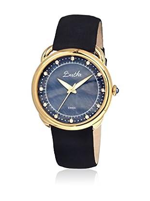 Bertha Uhr mit Schweizer Quarzuhrwerk Beverly schwarz 41 mm
