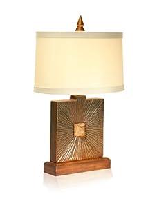 "Aqua Vista Radiant Table Lamp, 26.5"""