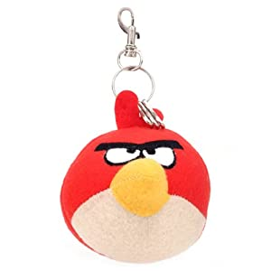 Angry Birds MBE-AB033 Key Chain-Red