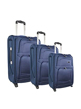 zifel Set de 3 trolleys semirrígidos 8012