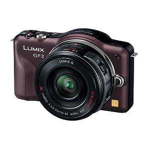 Panasonic デジタル一眼カメラ LUMIX GF3 電動ズームキット