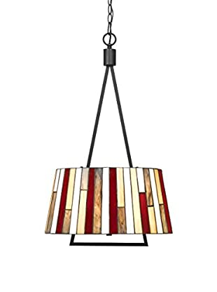 Bristol Park Lighting Leroy 2-Light Pendant, Dark Bronze