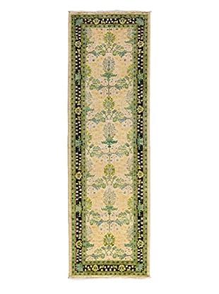 Darya Rugs Arts & Crafts Handmade Rug, Ivory, 2' 7