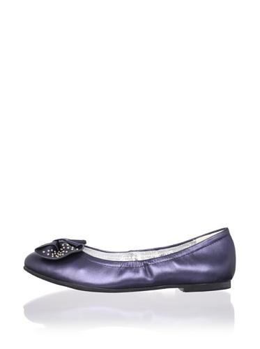 Venettini Kid's Sally Shoe (Toddler/Little Kid/Big Kid) (Blue Pearlized)