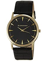 Giordano Analog Black Dial Men's Watch - 1615-03