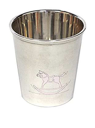 Hermès Silver-Plated Rocking Horse Goblet, Silver