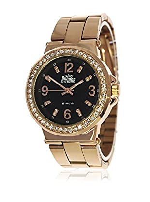 Pit Lane Uhr mit Miyota Uhrwerk Pl-4007-1 rosé 38 mm