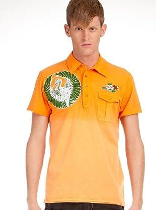 Custo Poloshirt (Orange)
