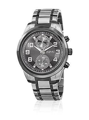 August Steiner Reloj con movimiento cuarzo japonés Man AS8173TTB 54 mm