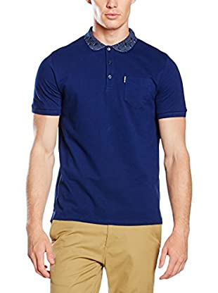 Ben Sherman Polo Pindot Optic Geo