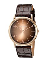Stuhrling Original Analog Rose Gold Dial Men's Watch - 140A.03